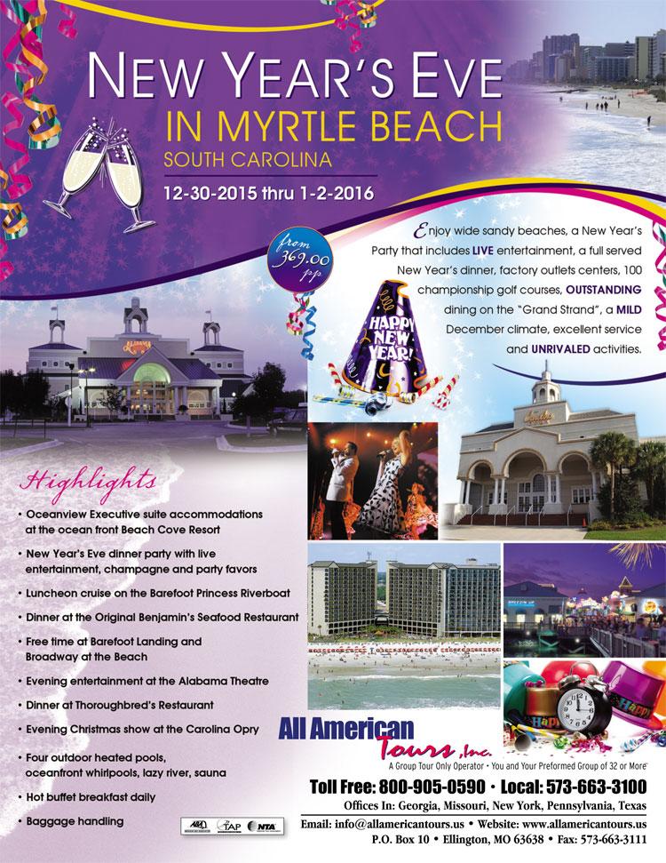 Myrtle Beach New Years Eve 2015~2016