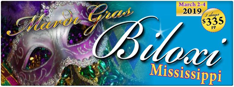 Celebrate Mardi Gras in Biloxi!
